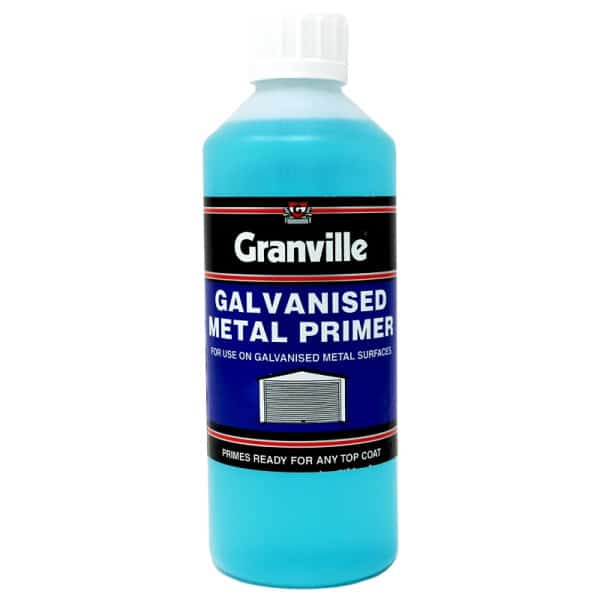 Granville Metal Primer For Galvanised And Zinc Alloy 500ml