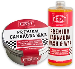 Frost Premium Carnauba Wash & Wax - Concentrated Shampoo 1L & Carnauba Wax 65% (150g) (2 FOR 1)-11646
