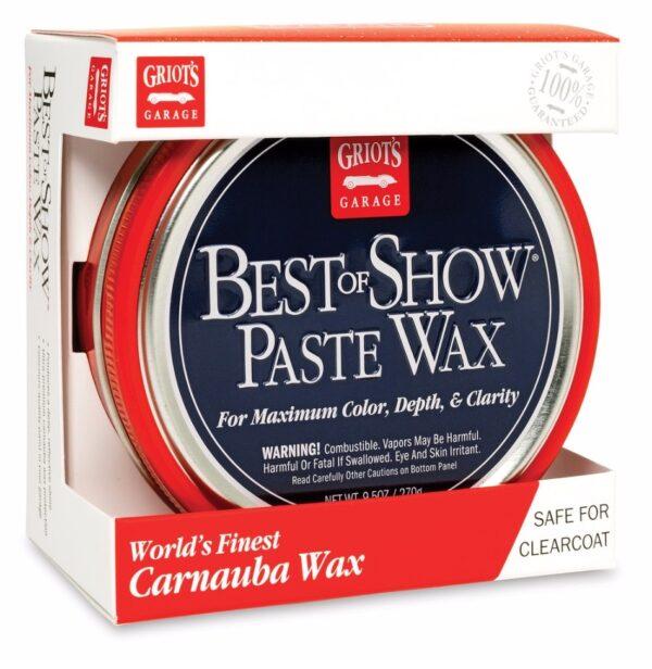 Griots Best of Show Paste Wax 9.5 OZ - 281ml-11886