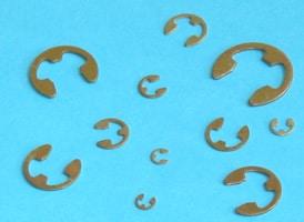 Imperial E-Clip Retaining Ring Assortment (1/16-7/8)