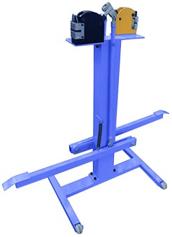 Complete Shrinker / Stretcher (2 body, 2 jaws) with Foot Operated Stand