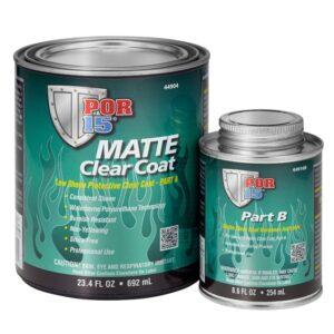 POR-15® Matte Clear Coat