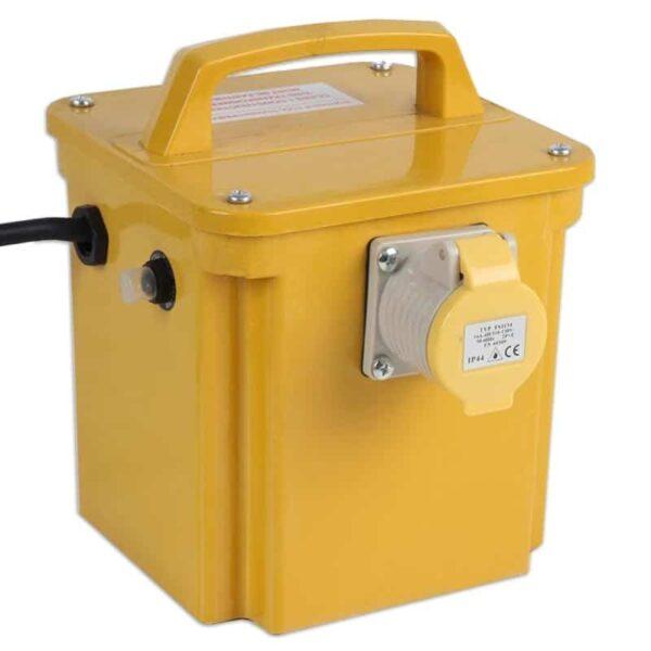 1kVA Portable Transformer 240V/110V 1 Output