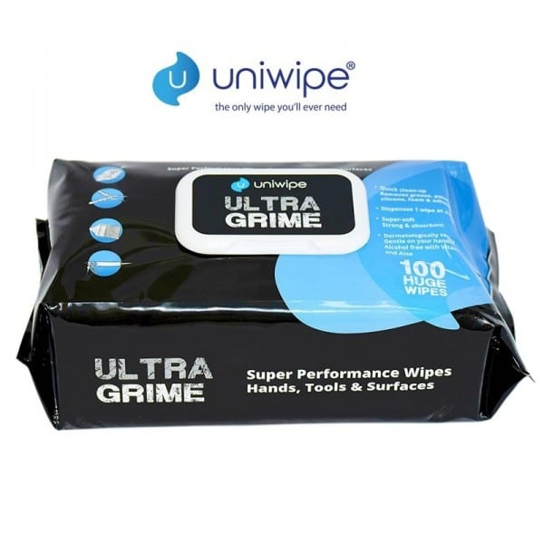 Ultra Grime Industrial Performance Wipes (100 wipes)