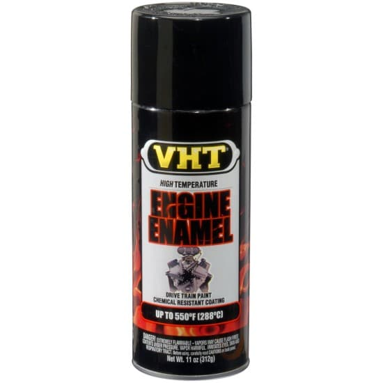 VHT Gloss Black Engine Enamel High Temperature Paint (312g)