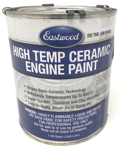 Eastwood High Temp Ceramic Engine Paint US Quart (946ml)