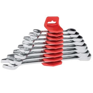 USAG 5 Piece Flat Combination Wrench Set