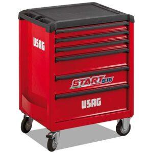 USAG Start 516 Roller Cabinet 6 Drawers
