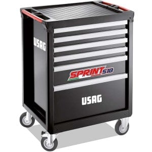 USAG 149 Piece Sprint 518 Roller Cabinet - Automotive