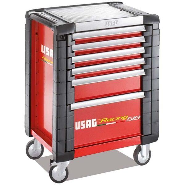 USAG 157 Piece Racing 519 Roller Cabinet