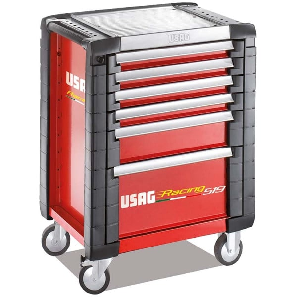 USAG Racing 519 Roller Cabinet Red