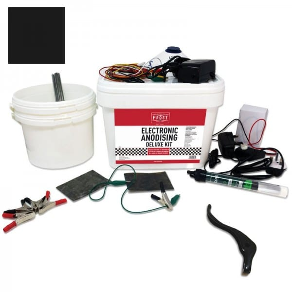 Deluxe Electronic Anodising Kit Black