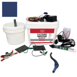 Deluxe Electronic Anodising Kit Blue