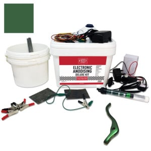 Deluxe Electronic Anodising Kit Green