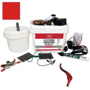 Deluxe Electronic Anodising Kit Red