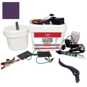Deluxe Electronic Anodising Kit - Violet