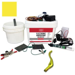 Deluxe Electronic Anodising Kit Yellow