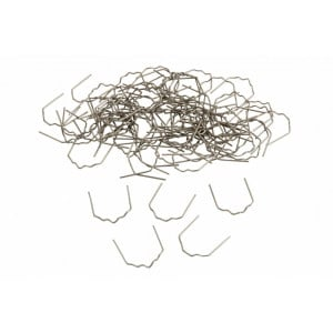 Staples For Plastic Hot Welding, 0.8mm, Pack of 100