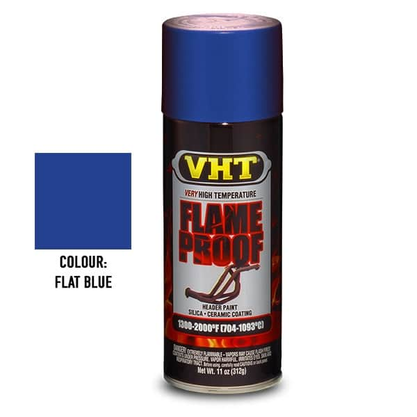 VHT Very High Temperature Flame Proof Paint Flat Blue (312g)