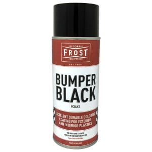 Frost Bumper Black - Black Bumper Spray