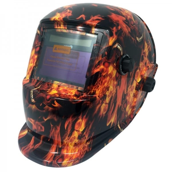 True Colour Auto Darkening Welding Helmet - Malphite Design