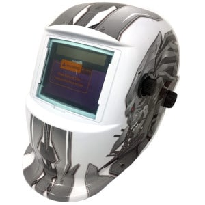 True Colour Auto Darkening Welding Helmet - Sharp Robot Design