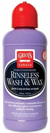 Griots Rinseless Wash & Wax 16floz- 473ml