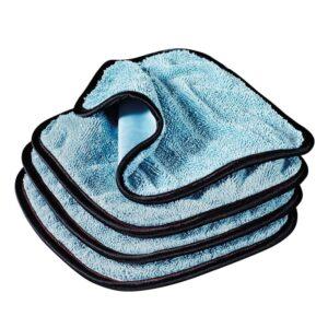 Griot's PFM® Dual Weave Glass Towels - Set of 4