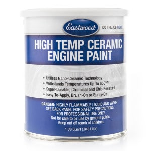 Eastwood Ceramic Engine Paint Matte Black 946ml