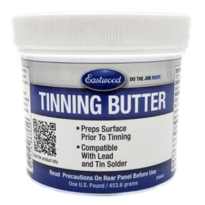 Eastwood Tinning Butter Solder Paste for Body Soldering / Lead Loading (454g)-0