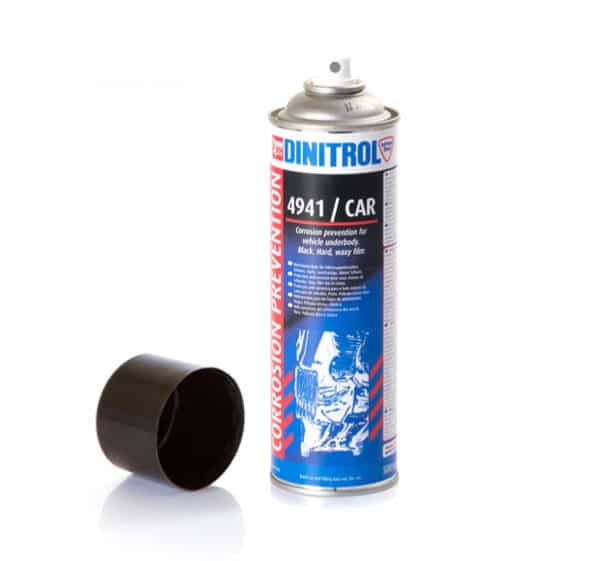 Dinitrol 4941 Black Underbody Coating Rust Preventive Fluid Aerosol (500ml)