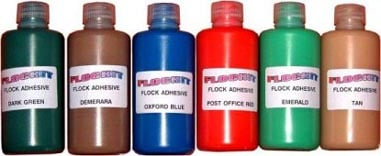 Aquamarine Extra Flock Adhesive (250ml)