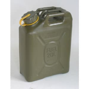 Sceptre US Mil spec Jerry Plastic Fuel Can  (20L - Diesel)
