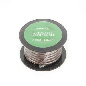 Brown 27amp Cable (2.2 metres)