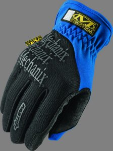 Medium Blue Mechanixs Gloves