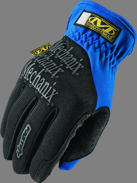 Medium Blue Mechanixs Gloves
