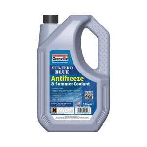 Granville Sub Zero Blue Antifreeze and Summer Coolant (5L)