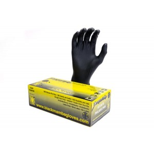 Black Mamba Torque Grip Nitrile Gloves (Large