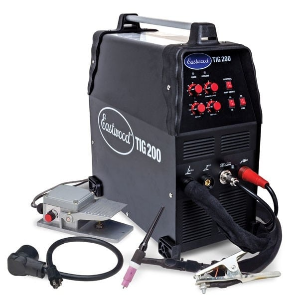 Eastwood TIG Welder 200 AC/DC with Stick Welding Feature
