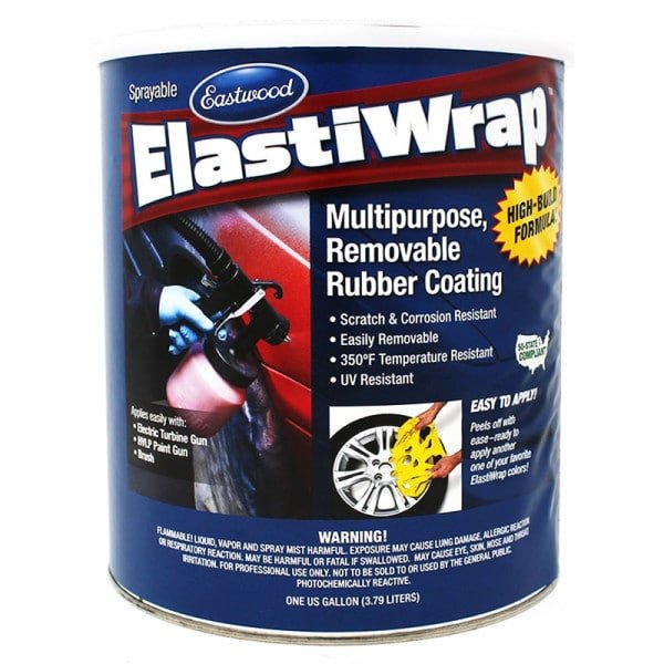 Elastiwrap MATTE CLEAR Rubber Coating US Gallon (3.78L)