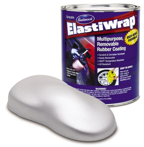 Elastiwrap SILVER BULLET Large Flakes Rubber Coating US Gallon (3.78L)