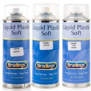 Interior Liquid Plastic Paint Soft Leather/Vinyl Coat - BLACK (400ml Aerosol)