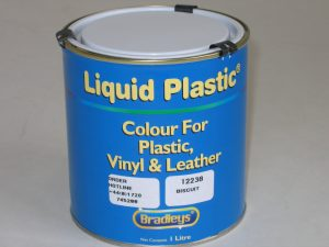 Interior Liquid Plastic Paint Soft Leather/Vinyl Coat - RED (1L)