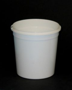 2.5 Litre Polythene Mixing Bucket For Fibreglass