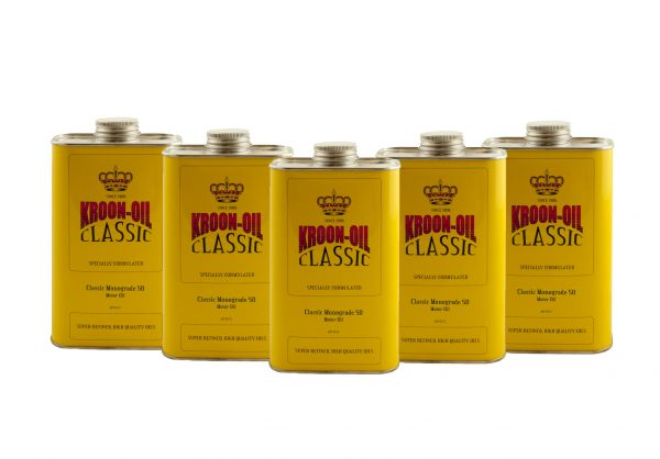 Kroon-Oil Classic Monograde SAE 50 Engine Motor Oil (5L)