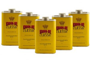 Kroon-Oil Classic Racing Semi-Synthetic Multigrade 15w50 Engine Motor Oil (5L)