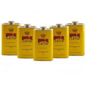 Kroon-Oil Classic Multigrade SAE 20w50 Engine Motor Oil (5L)