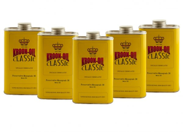 Kroon-Oil Classic Preservative Monograde 30 Engine Motor Oil (5L)