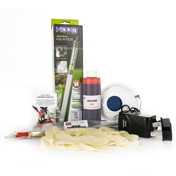 Red Coloured Anodising Dyeing Kit (5L)