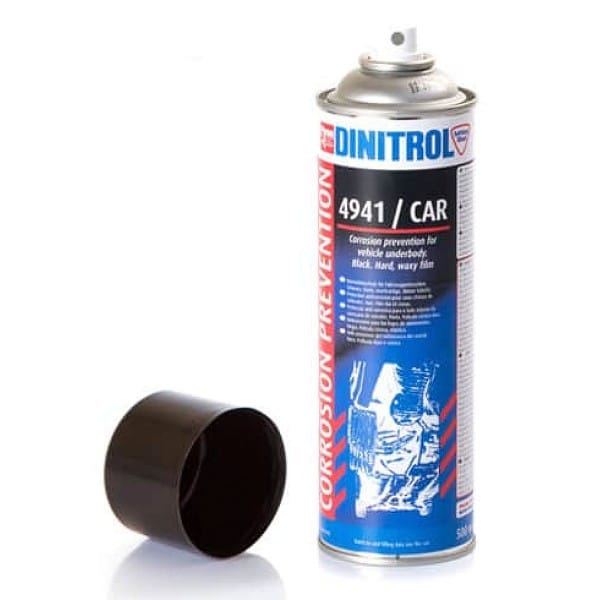 Dinitrol 4941 Black Underbody Coating Rust Preventive Fluid Aerosol (500ml) S317
